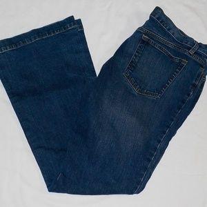 Gap jeans sz 14 ~Long & Lean Boot Cut